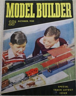 1940 Model builders cover